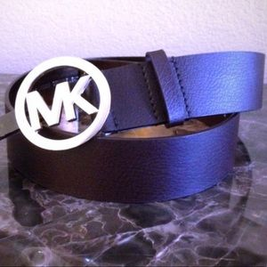 Authentic Michael Kors Genuine Leather Belt